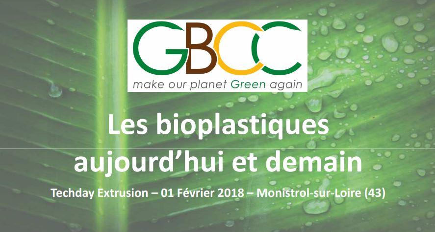 Présentation Bioplastiques TechDay